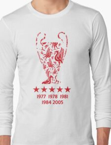 Liverpool FC - Champions League Winners Long Sleeve T-Shirt