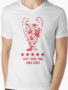 Liverpool FC - Champions League Winners Mens V-Neck T-Shirt