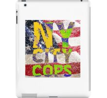 New York NY City Cops T Shirts, Stickers and Other Gifts iPad Case/Skin