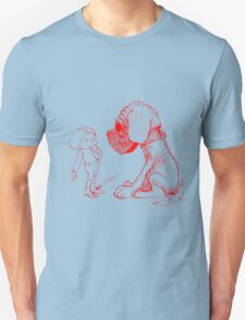 Who let the dog out, red T-Shirt