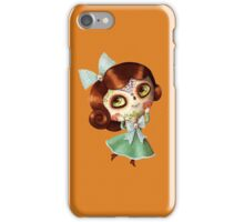 The Day of The Dead Vintage Doll iPhone Case/Skin