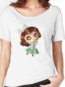 The Day of The Dead Vintage Doll Women's Relaxed Fit T-Shirt