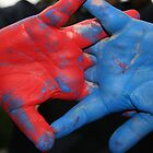 Painted Hands by Nehama  Verter