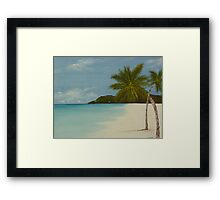 Jamaican Haven Framed Print