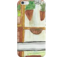 The View From the Back Door iPhone Case/Skin