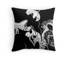 a dark maybe... Throw Pillow