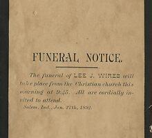 LEE J. WIRES by West Kentucky Genealogy