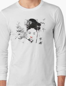 Kyoto Geisha Long Sleeve T-Shirt