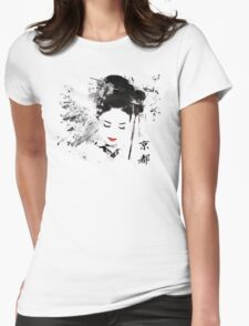 Kyoto Geisha Womens Fitted T-Shirt