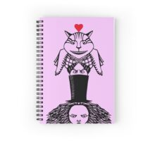 Alice Totem Spiral Notebook