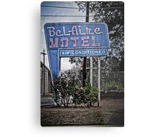 The BelAire Motel Metal Print