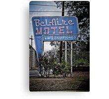 The BelAire Motel Canvas Print