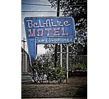The BelAire Motel Photographic Print