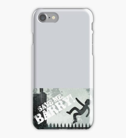 "Misfits ""Save Me Barry"" Print iphone case aple samsung simon nathan iPhone Case/Skin"