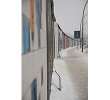 Berlin wall, germany Photographic Print