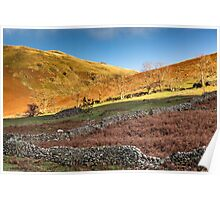 Old Stone Walls Poster