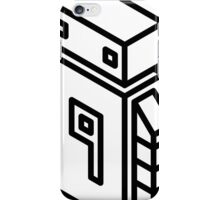 Robot 9 Large iPhone Case/Skin