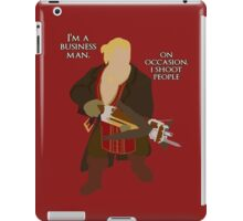 On occasion, I shoot people iPad Case/Skin