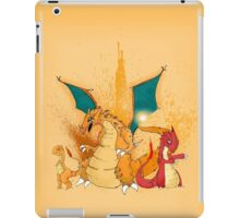 Charmander Evolution! iPad Case/Skin