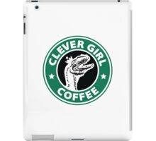 Velociraptor Coffee iPad Case/Skin