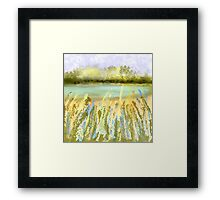 My Secret Fishing Hole Framed Print
