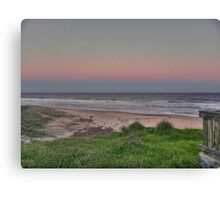 old bar beach afternoon Canvas Print