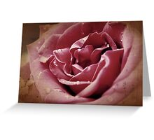 Faded blooms and memories Greeting Card