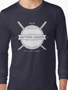 Hattori Hanzo, Master Swordsmith Long Sleeve T-Shirt