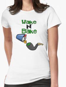 Wake N' Bake! Womens Fitted T-Shirt