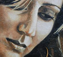 Tania  - close up of artist/singer by Jill Procter