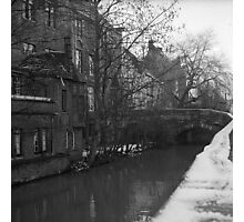 Canal houses, Brugge Photographic Print