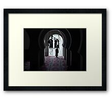 Moroccan Arches Framed Print