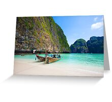 Phi Phi Island Greeting Card