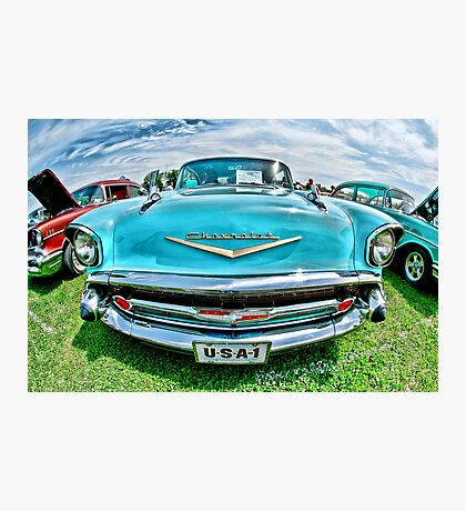 See the USA in Your Chevrolet Photographic Print