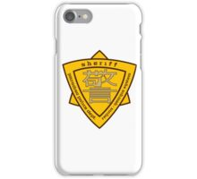 Firefly: Paradiso Sheriff's Dept. iPhone Case/Skin