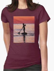 Dusk Float - Sunset Art T-Shirt