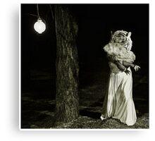 Lady Tigress Canvas Print