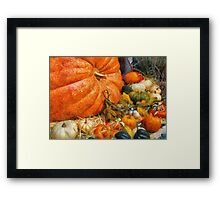 Autumn - All of my relatives Framed Print