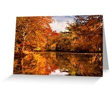 Autumn - In a dream I had Greeting Card