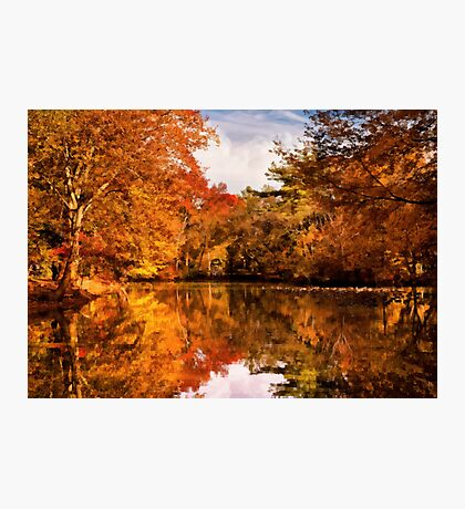 Autumn - In a dream I had Photographic Print