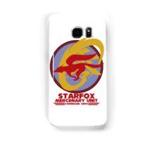 Mercenary Unit - Starfox Samsung Galaxy Case/Skin