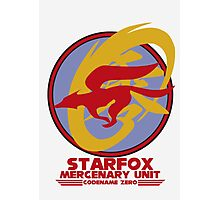 Mercenary Unit - Starfox Photographic Print
