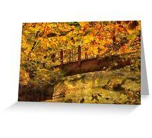 Bridge - The hidden bridge Greeting Card