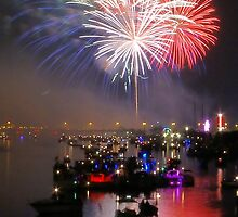 Bay City Fireworks Festival - 2015 - Day 3 (July 4) by Francis LaLonde