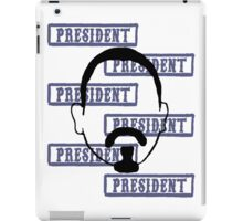 Marcus President collage iPad Case/Skin