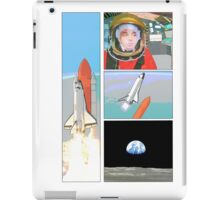 space comic iPad Case/Skin