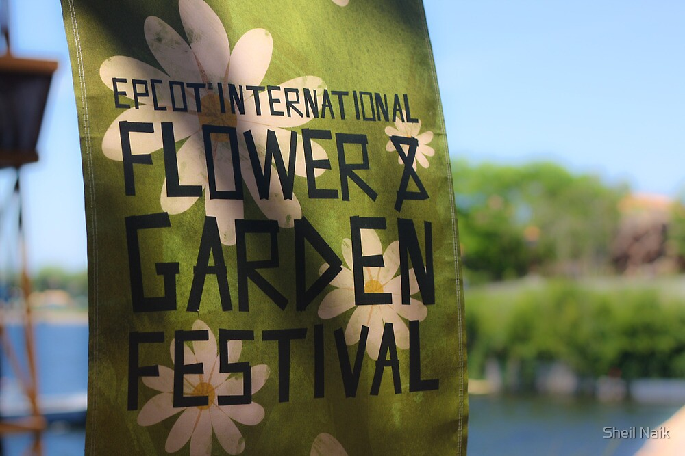 Epcot International Flower & Garden Festival  by Sheil Naik