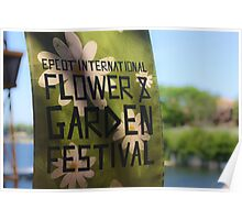 Epcot International Flower & Garden Festival  Poster