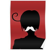 "Romano and his ""Moostache"" Poster"