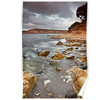 Sandy Bay from Bellerive Bluff Poster